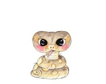 Baby Python Fine Art Print