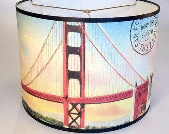 San Francisco lamp shade