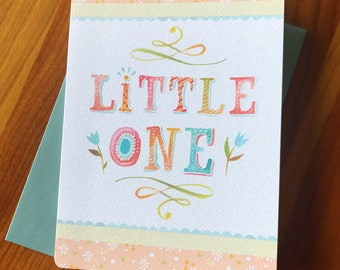 Little One  - Greeting Card