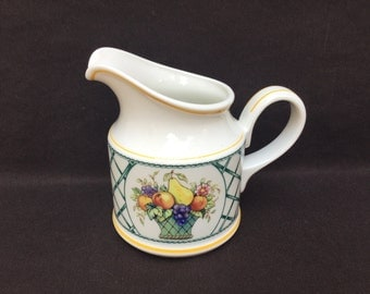 Villeroy & Boch Basket Creamer Fruit Trellis Many Other Pieces Available