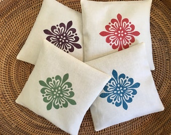 Organic Lavender and Peppermint Sachets - Dryer Sachets - Small Gift Idea