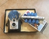 1960s Eastman Kodak Brownie Starfish Outfit Camera With Extra Flashbulbs, All Paperwork Included