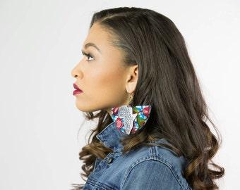 Map earrings Etsy