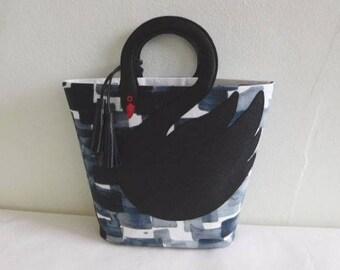 Swan Bag Purse Tote
