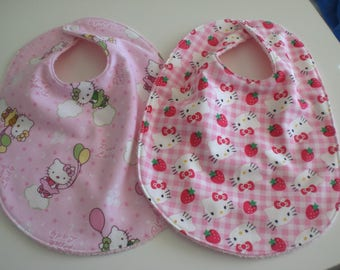 Hello Kitty baby bibs