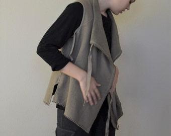 STOCK 100 Percent Organic Cotton Fleece Vest