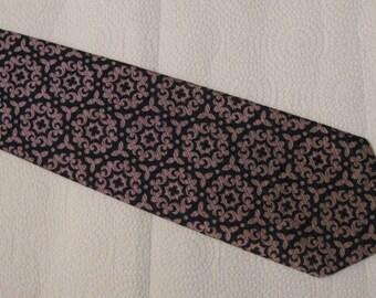 Vintage Riviera Men's Polyester Tie - Allan-Lewis Bangor, Maine