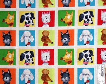 Dog's World Red Rooster fabric