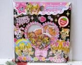 Kamio Japan Sticker Flakes - Happy Party 71 Pieces (40880)