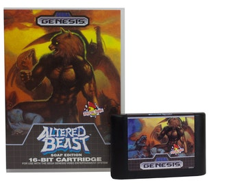 Altered Beast Soap Officially Licensed by Sega, Sega Genesis Cartridge Soap