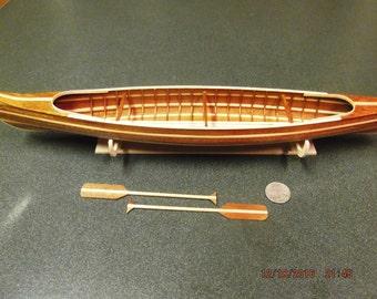 Miniature Canoe