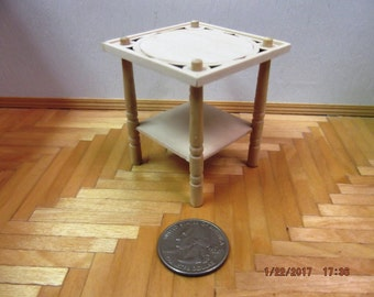 Miniature Unfinished Patio Table
