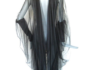 guazy, ethereal, dark, elegant, edgy, aura, mystical, esoteric, goddess, robe, lingerie by Renegade Icon Designs
