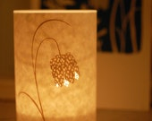 SECONDS SALE! Fritillary candle cover half price