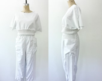 vintage jumpsuit / 80s jumpsuit / Mezza LineJumpsuit