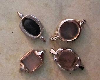 Vintage  Watch parts - watch Cases -  Steampunk - Scrapbooking  W23
