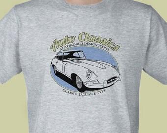 Auto Classics - Classic Jaguar E Type T-shirt