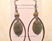 Aquamarine earrings: reserved