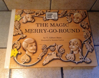 1973 The Magic Merry Go Round Children's Book