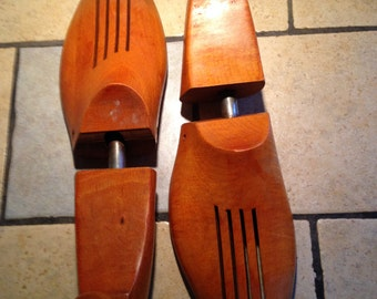 Pair of Maple Shoe Stretchers