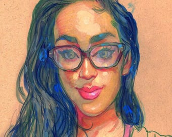 Diana Portrait Sketch