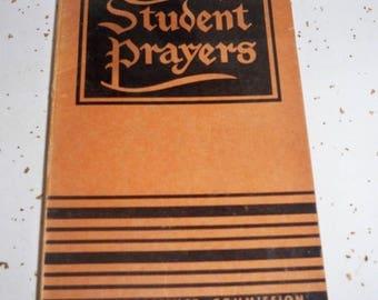 SALE Student Prayer Book - By John W. Doberstein, Copyright 1947