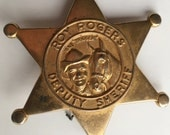 Roy Rogers PIN and WHISTLE  -- DEPUTY Sheriff