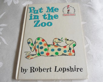 Put Me In The Zoo by Robert Lopshire Original 1960 First Edition