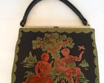 Great Double-Sided Tapastry Handbag