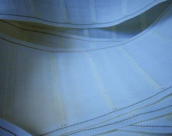 8 Yards Drapery Header 4 inches wide pleating stifner