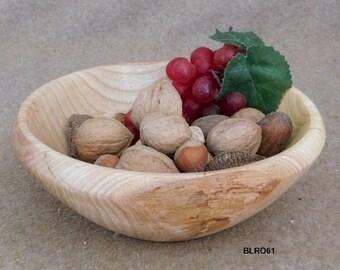 """8"""" Red Oak Display Bowl"""