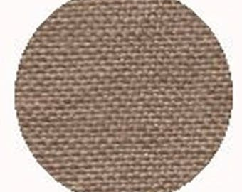 "Wichelt-Permin Linen Premium Fabric - Milk Chocolate 28 count 18"" x 27""  76-95L, counted cross stitch, needlework Fabric"