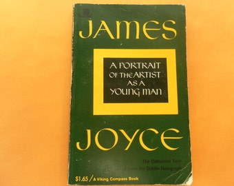 James Joyce Portrait of the Artist as a Young Man 1970