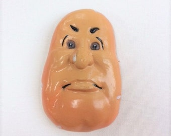 Vintage Arjon Potato Face Anthropomorphic Magnet
