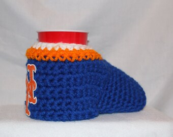Ready to ship - New York Mets Drink Mitt  - The mitten with the drink holder