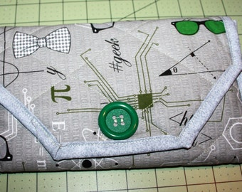 Geek Notepad Cover Clutch
