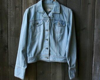 Denim Jacket Jeans Bohemian Fashion Jacket Light Blue Paris Blues Vintage Jacket From Nowvintage