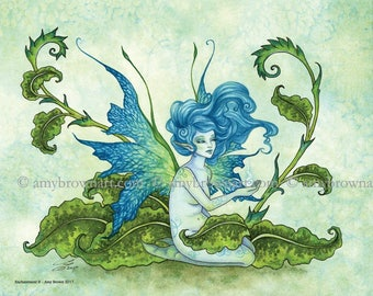 Enchantment fairy 8X10 PRINT by Amy Brown