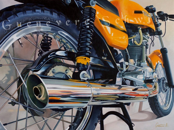 "Archival Print of ""Desmo Details"""