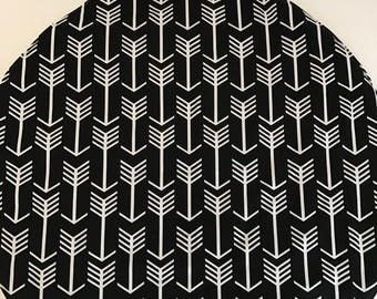 Arrows Black and White Arrow Play Mat // Padded Mat // Tummy Time Mat