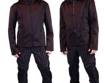 ON SALE DUNE cyberpunk jacket, hoodie by Plastik Wrap, all sizes available.