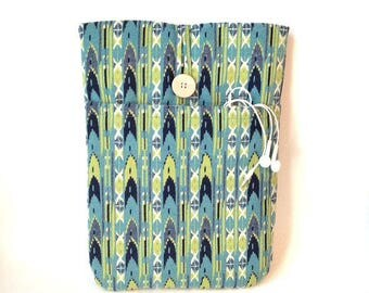 Tribal Laptop Case, Macbook Air Sleeve, Macbook Air Case, 13 inch Macbook Air Cover,13 inch Macbook Air Case, Laptop Sleeve,Pro Navajo Green