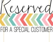 RESERVED for Kelly - Retirement Banner