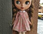 Sweet Little Girl dress for Blythe - Pink