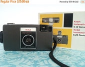 CLEARANCE 60% OFF Vintage Kodak Instamatic S-20 with Manual