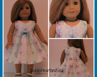 Sundress Summer Pastels Fits 18 inch Doll