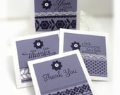 Stampin' Up 3 x 3 Note Cards (total of 4)