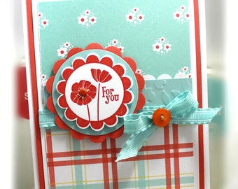 Stampin' Up For You Card