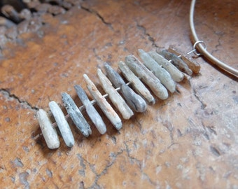Australian Kyanite necklace - natural stone jewellery - healing jewelry - handmade with ethically sourced gemstones
