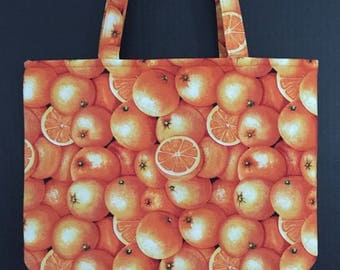 Oranges Market Bag/Tote Bag/Shopping Bag